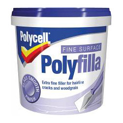 Polycell Fine Surface Polyfilla - 500g Tub