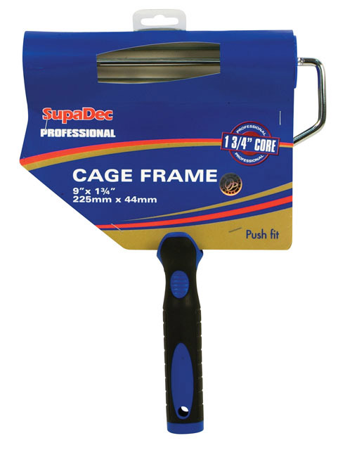 "SupaDec Plastic Handle Cage Frame - 9"" x 1.75"" / 255mm x 44mm"