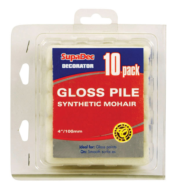 SupaDec Gloss Mini Roller - Pack of 10