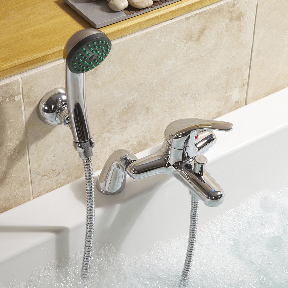 SupaPlumb Eiger Bath Shower Mixer Tap - W: 231mm H: 167mm D: 200mm