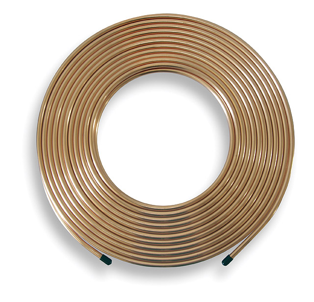 Copper Pipe Coil - 10m x 8mm