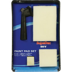 SupaDec DIY Paint Pad Set - 5 Piece