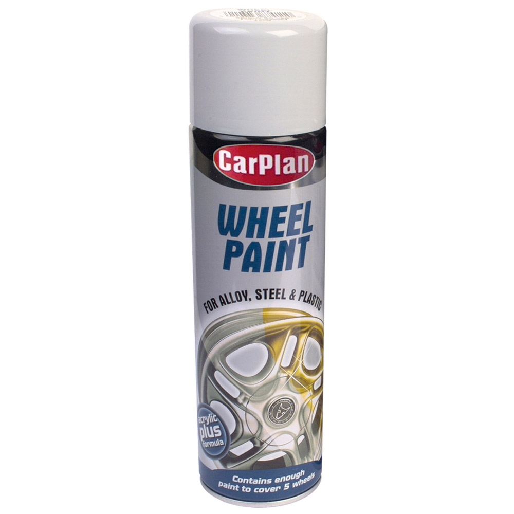 Carplan Wheel Paint Bright Silver - 500ml