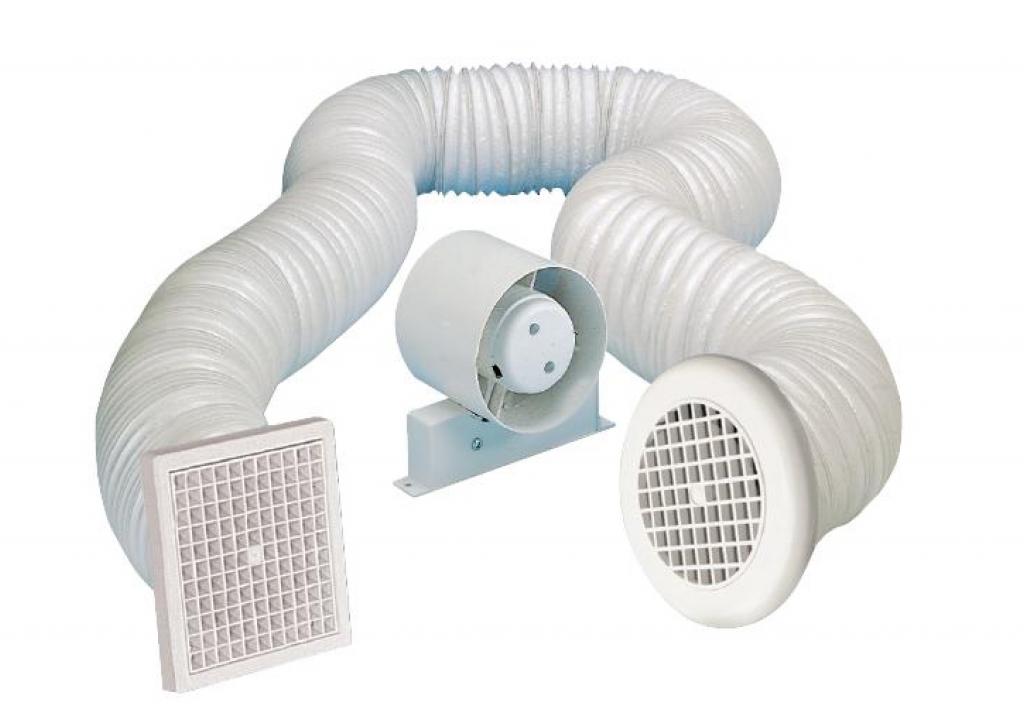"""Manrose Shower Fan + Timer - 4"""""""