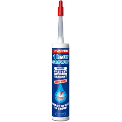 Evo-Stik 1 Hour Shower Sealant - Clear C20