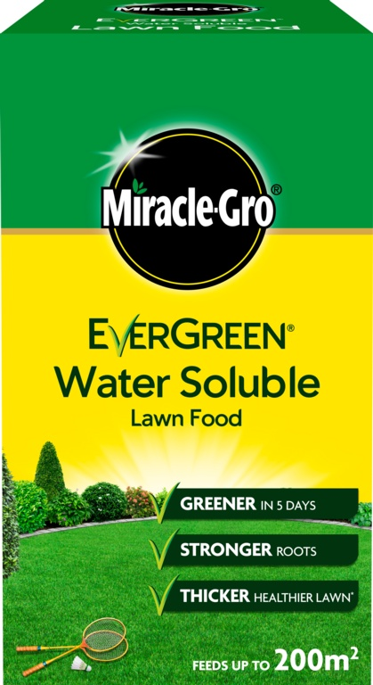 Miracle-Gro Water Soluble Lawn Food - 1kg Carton
