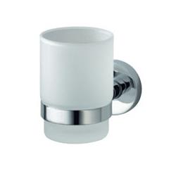 Aqualux Kosmoa Glass Holder - Chrome