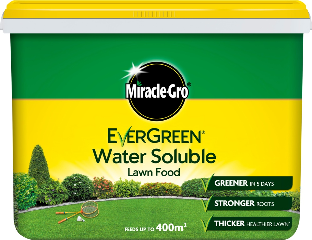 Miracle-Gro Water Soluble Lawn Food - 2kg Tub