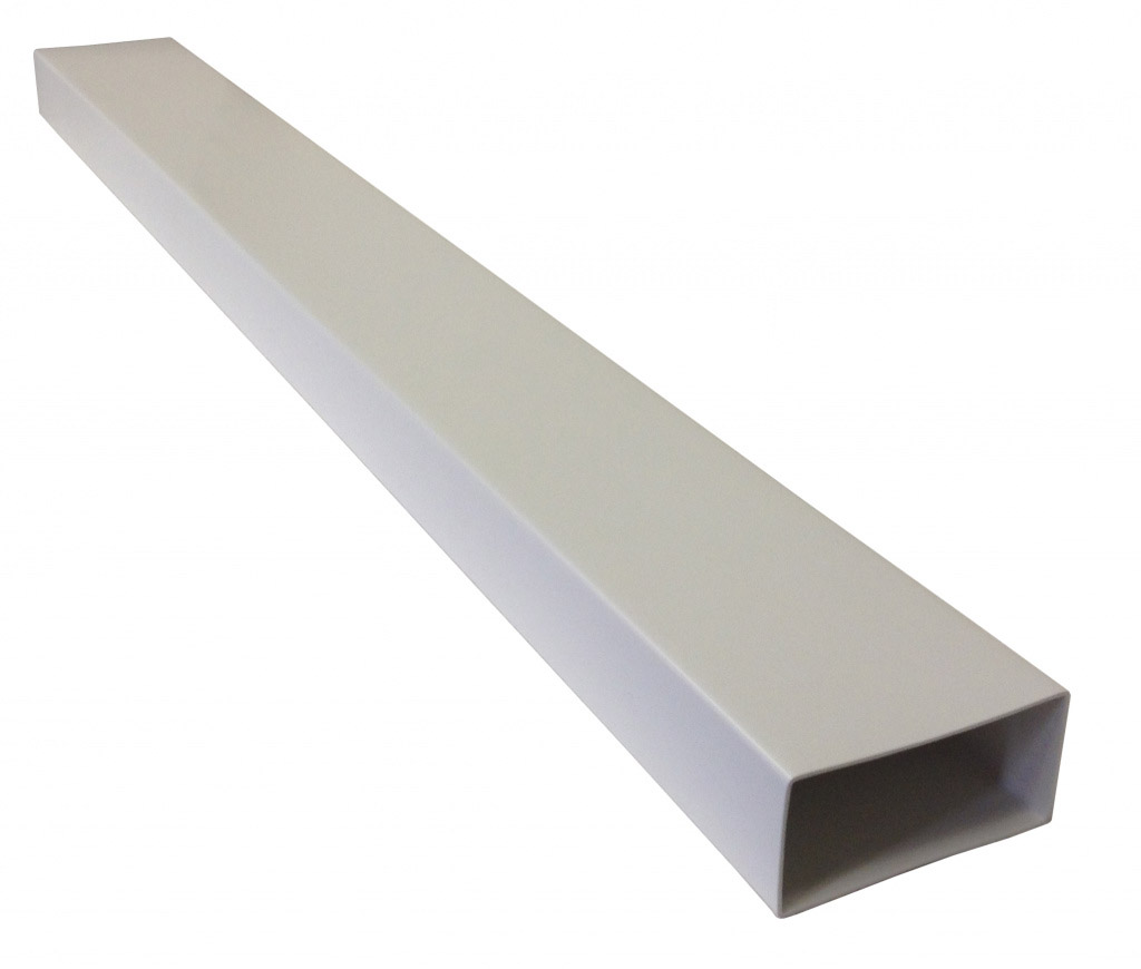 Manrose Flat Channel Ducting - 1m