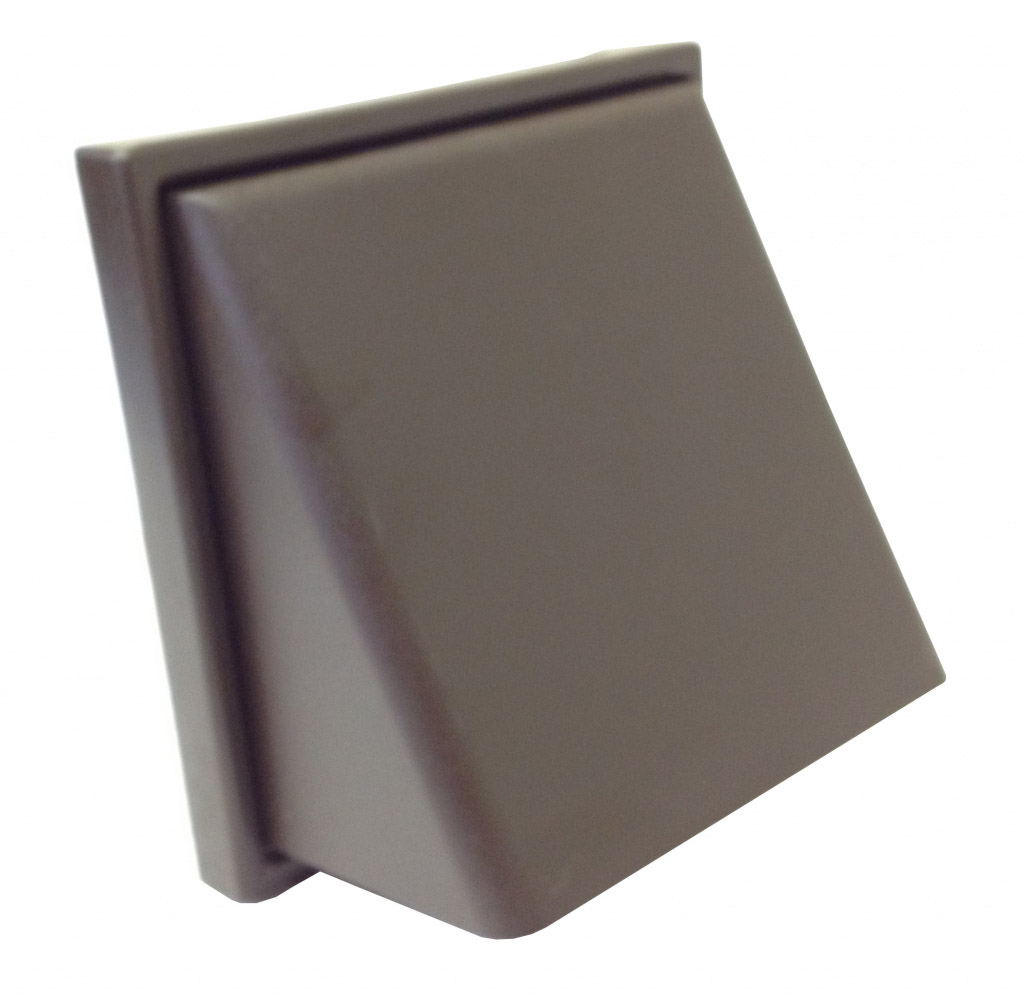 Manrose Cowl Vent 4 Quot Extractor Fan Cover Brown Ebay