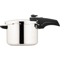 Prestige Smartplus Pressure Cooker - Stainless Steel - 6L