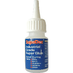 SupaDec Industrial Grade Super Glue