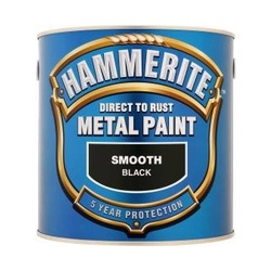 Hammerite Metal Paint Smooth 2.5L - Black