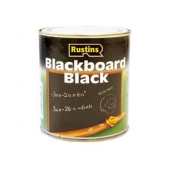Rustins Quick Dry Blackboard Black - 125ml
