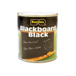 Rustins Quick Dry Blackboard Black 500ml