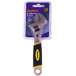 SupaTool Adjustable Wrench with Power Grip - 6�/150mm