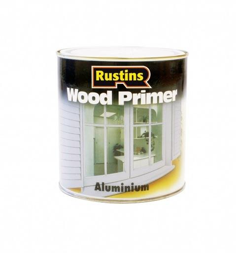 Rustins Aluminium Wood Primer - 250ml