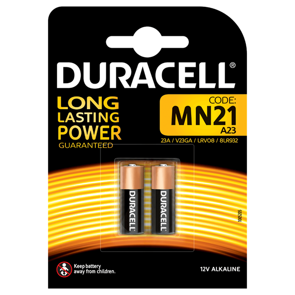 Duracell Alarm Battery Pack 2 - MN21