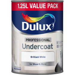 Dulux Professional Undercoat 1.25L Brilliant White