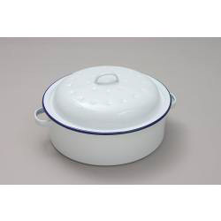Falcon Falcon Roaster Round - Traditional White - 26cm x 11D