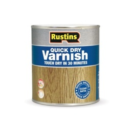 Rustins Acrylic Varnish 1L - Clear Satin