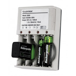 Lloytron Mains Battery Charger 4x AA Or AAA