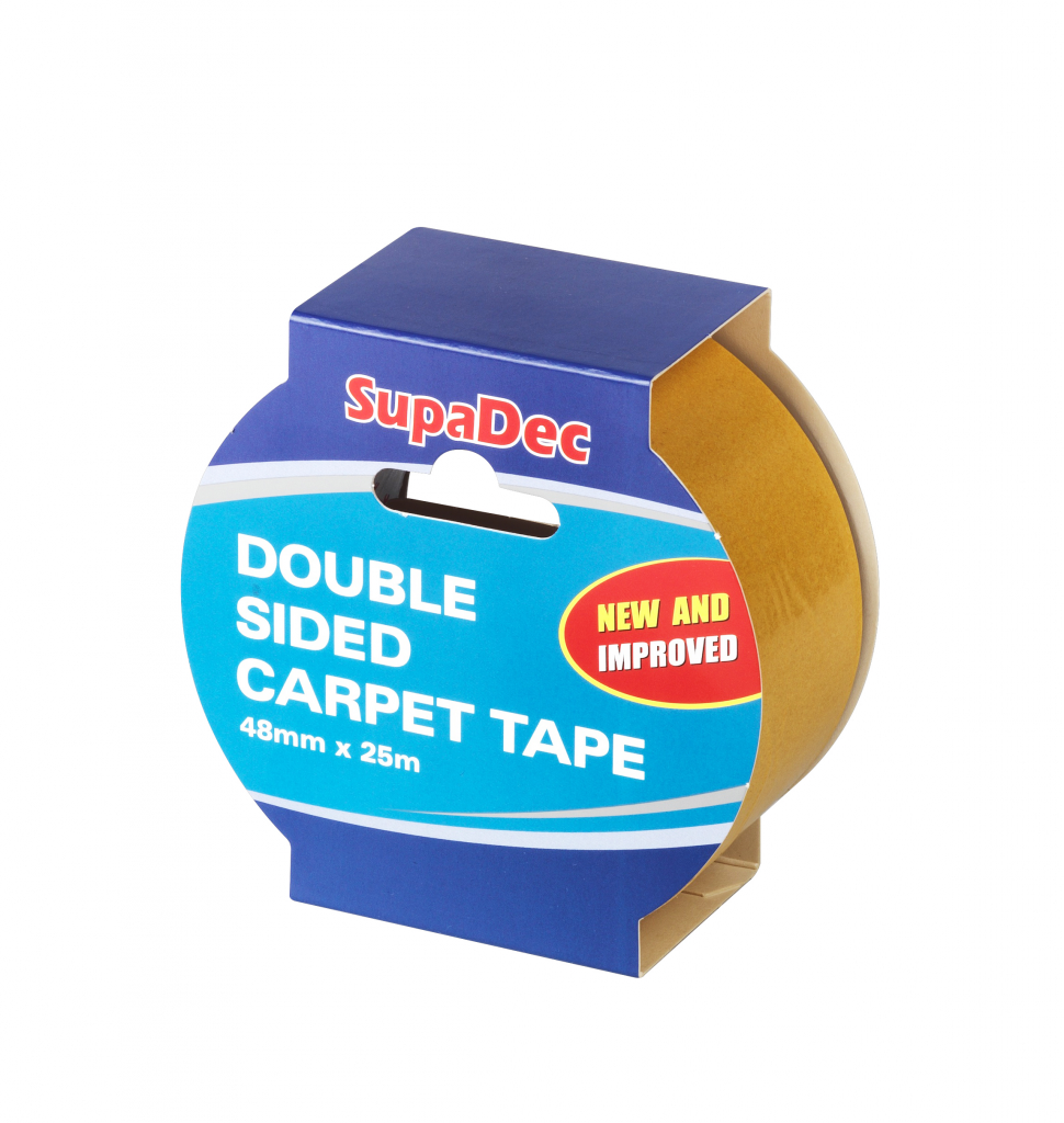SupaDec Double Sided Carpet Tape - 48mm x 25m