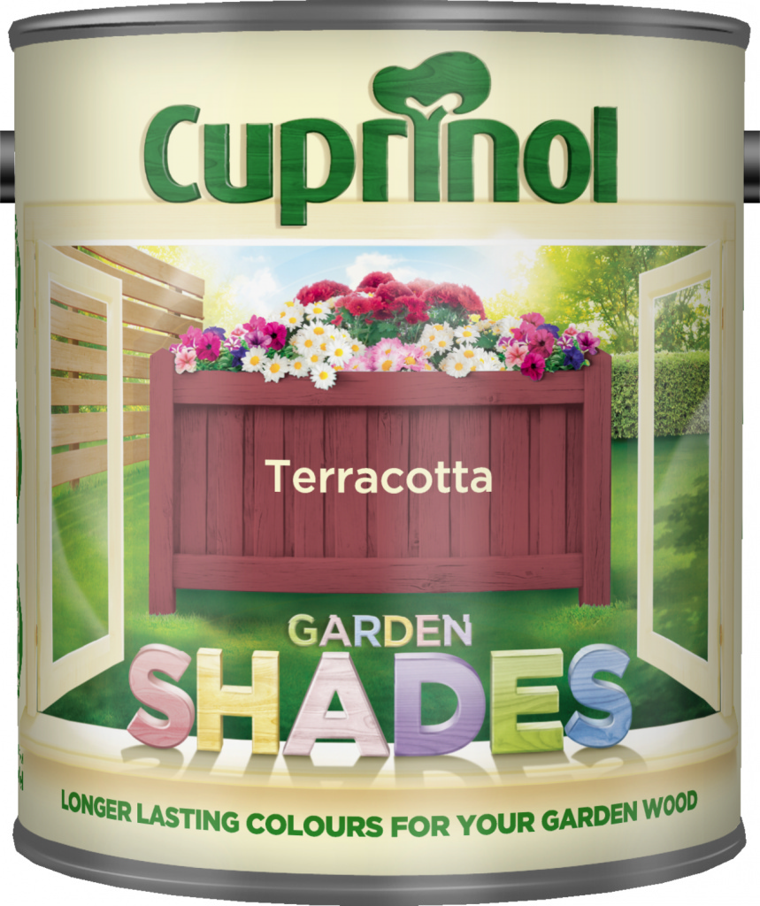 Cuprinol Garden Shades 1L - Terracotta