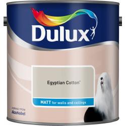 Dulux Standard Matt 2.5L Egyptian Cotton