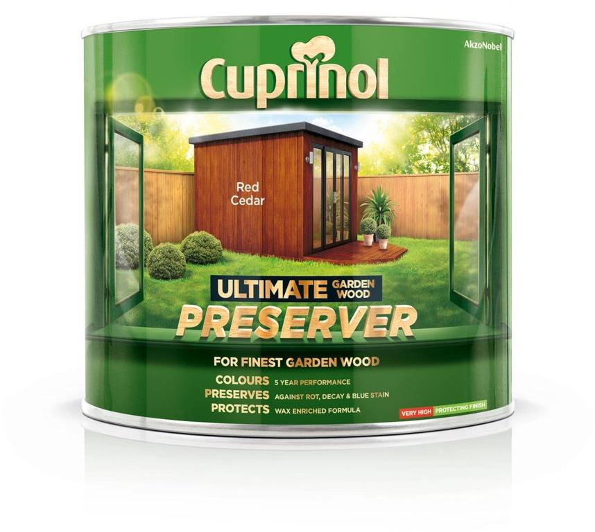 Cuprinol Ultimate Wood Preserver 1L - Red Cedar