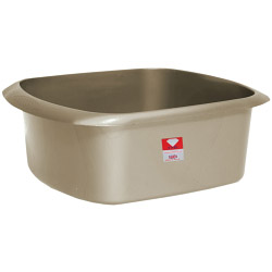 TML Rectangular Bowl - 11L Silver