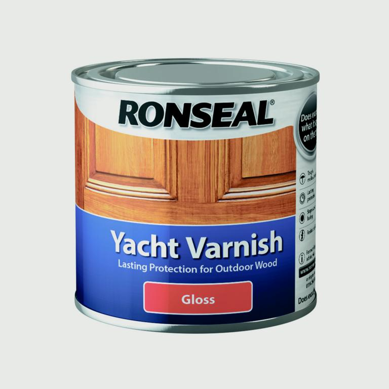 Ronseal Yacht Varnish Gloss - 250ml