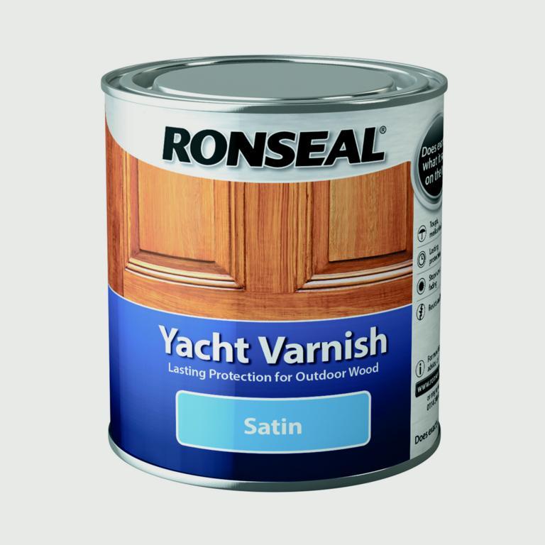Ronseal Yacht Varnish Satin - 500ml