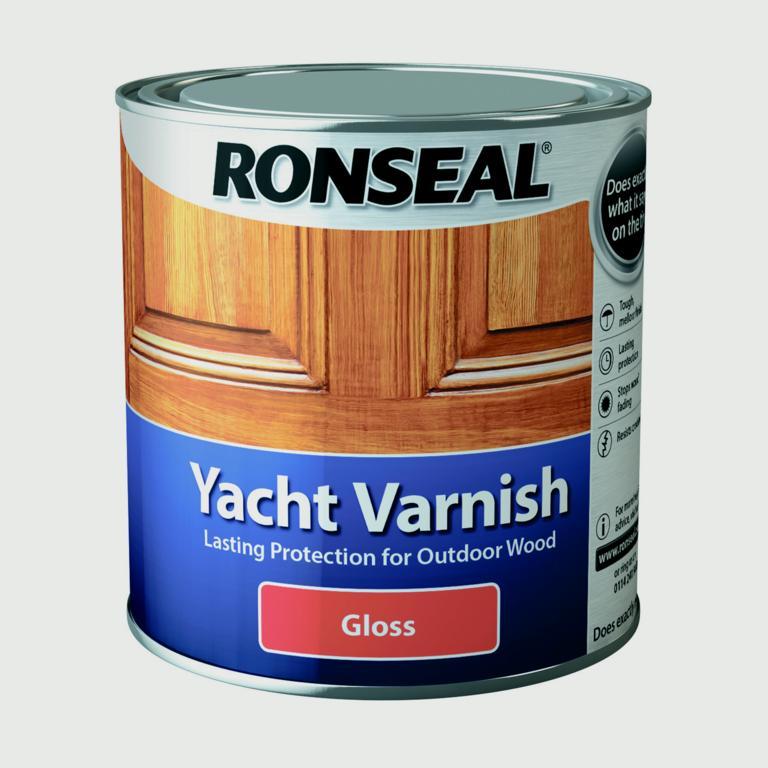 Ronseal Yacht Varnish Gloss - 1L