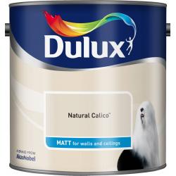 Dulux Standard Matt 2.5L Natural Calico