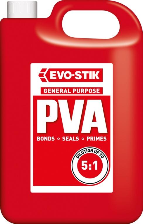Evo-Stik Evo-Bond PVA - 5L