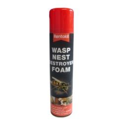 Rentokil Wasp Nest Destroyer Foam