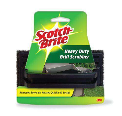 ScotchBrite Grill Scrub Pad - Charcoal / Black Colour