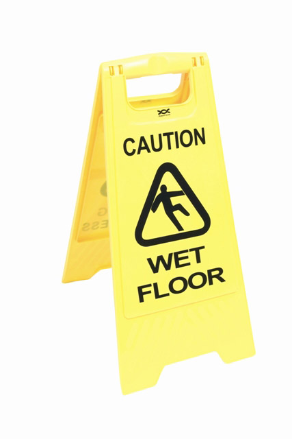 Wet Floor Sign - A Frame