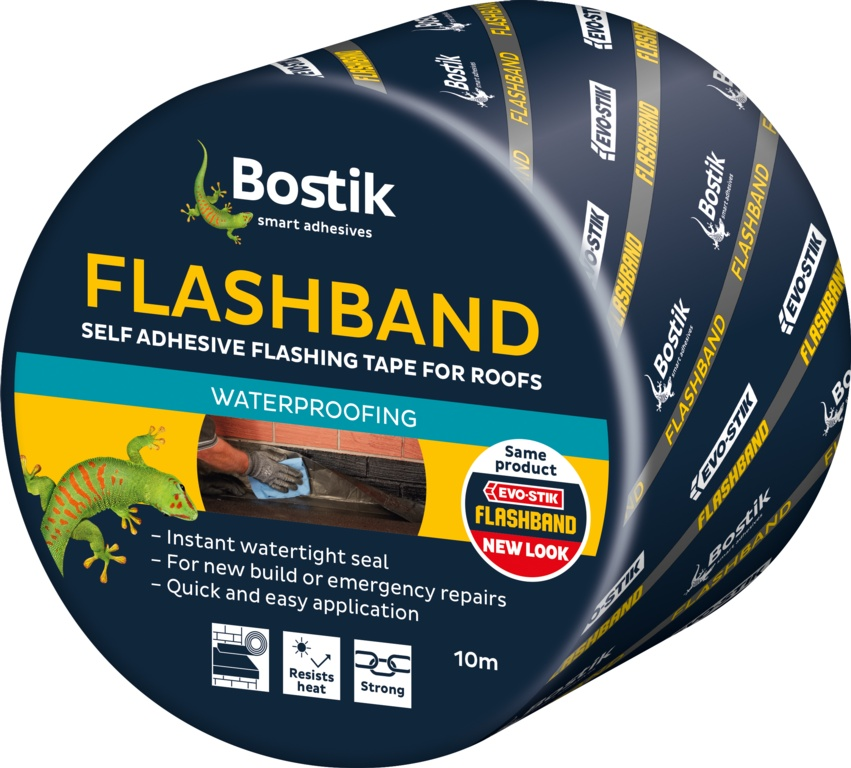 Bostik Flashband Original Finish - 10m x 225mm Grey Finish