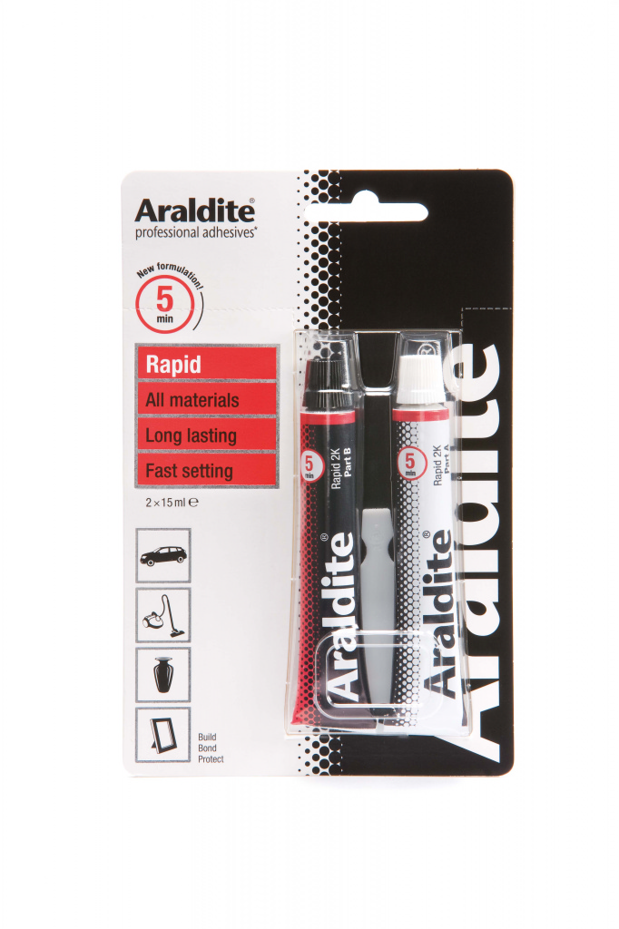 Araldite Rapid Tube - 2 x 15ml Tubes