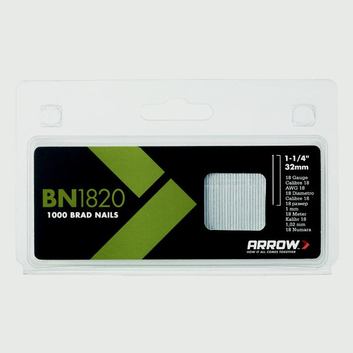 Arrow Steel Brads - 32mm (1000pack)