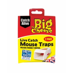 The Big Cheese Live Catch RTU Mouse Trap Twin Pack