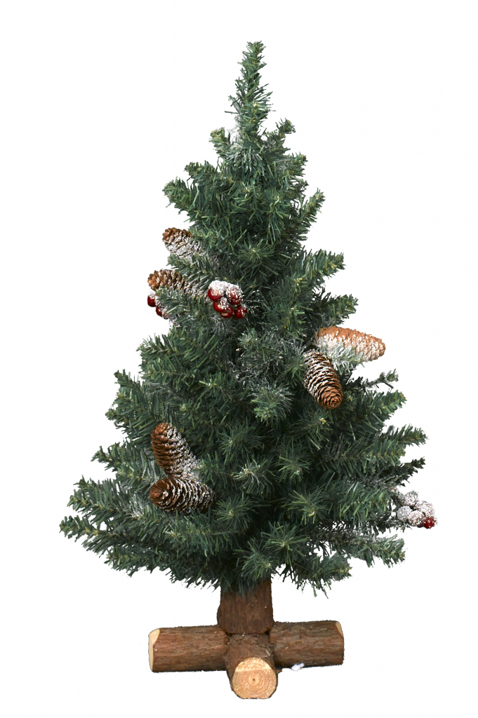 Kaemingk Sherwood Frosted Mini Tree - 60cm