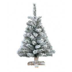 Kaemingk Snowy Toronto Mini Tree - 90cm
