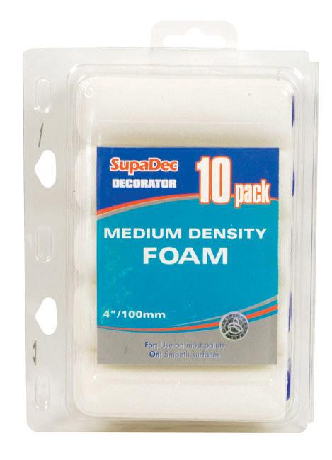 SupaDec Foam Mini Roller - Pack of 10