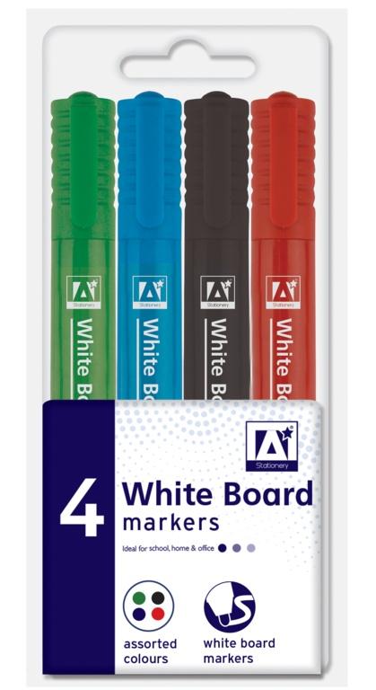 Anker White Board Marker Pens - Pack of 4