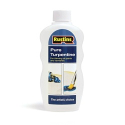 Rustins Pure Turpentine - 300ml