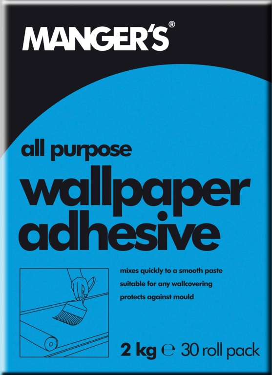 Mangers All Purpose Wallpaper Adhesive - 30 Roll