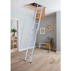 Youngman Group Space Maker 2 Section Aluminium Loft Ladder
